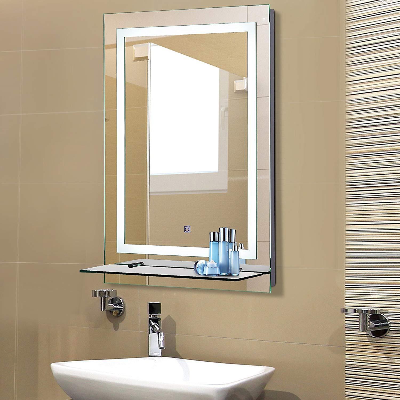 Super LED Badezimmerspiegel mit Glas-Ablage bestellen   Weltbild.de RC72