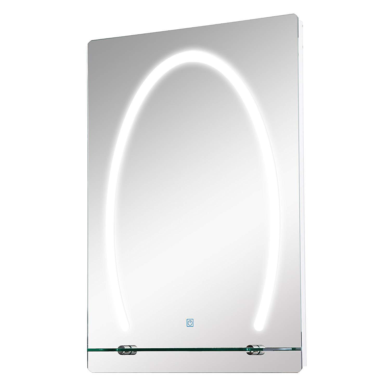 Beliebt LED Badspiegel mit Glas-Ablage jetzt bei Weltbild.de bestellen LD07
