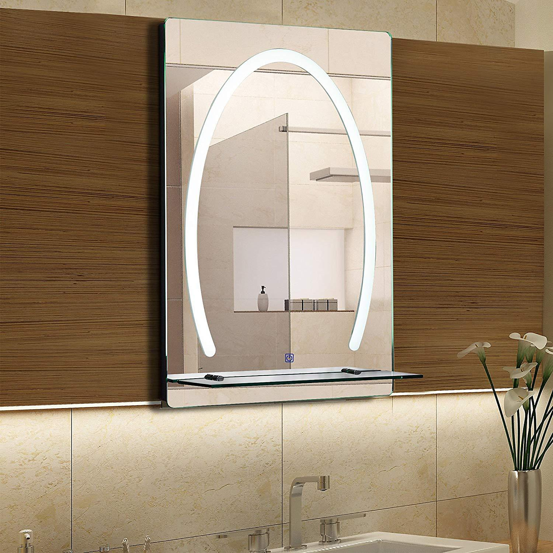 Led Badspiegel Mit Glas Ablage Jetzt Bei Weltbild De Bestellen