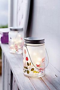 "LED-Dekoglas ""Blumenwiese"" - Produktdetailbild 2"