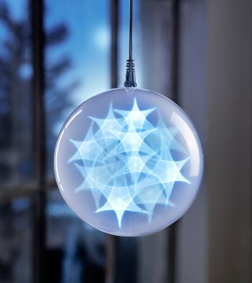 LED-Dekokugel Hologramm