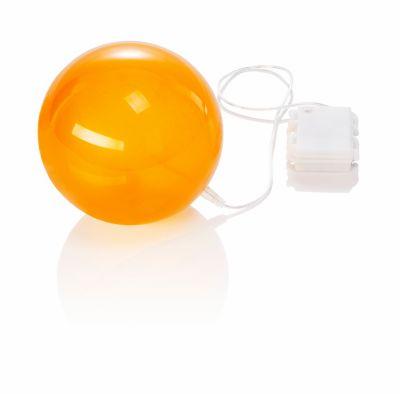 LED-Dekokugel Hologramm, goldfarben