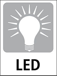 """LED-Dekosäulen """"Weisse Weihnacht"""", 3er-Set - Produktdetailbild 2"""