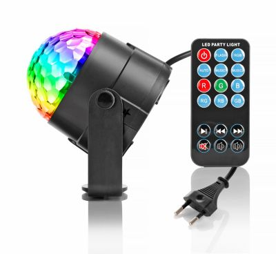 LED-Diskokugel mit Fernbedienung