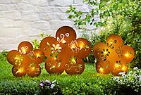 "LED-Gartenstecker ""Blume"", 3er-Set - Produktdetailbild 1"