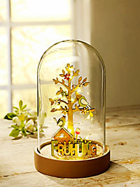 "LED-Glaskuppel ""4 Jahreszeiten"" - Produktdetailbild 1"