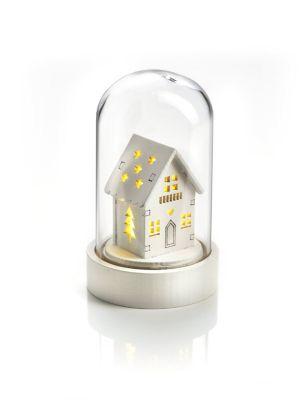 LED-Glasleuchte Hütte
