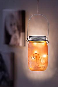 """LED-Glasleuchte """"Pusteblume"""" - Produktdetailbild 2"""
