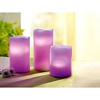 """LED-Kerzen """"Farbenfroh"""", 3er-Set - Produktdetailbild 8"""