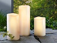 LED-Kerzen in Jumbogröße, 3er-Set - Produktdetailbild 1