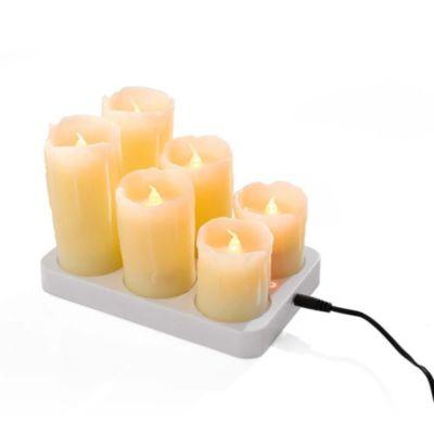 LED-Kerzen-Set, 7-tlg.