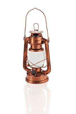 LED-Laterne Classico mit Flame-Effekt, dimmbar