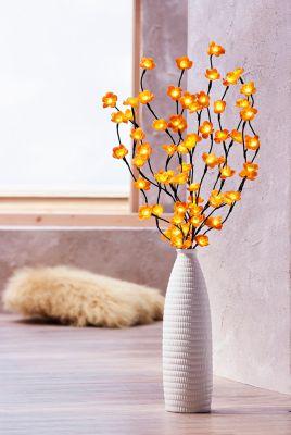 LED Leuchtzweige mit Blumen