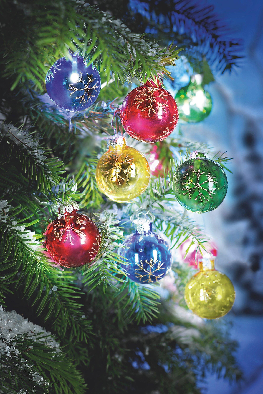 Einzelne Christbaumkugeln.Led Lichterkette Christbaumkugeln Jetzt Bei Weltbild De
