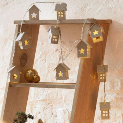 LED Lichterkette Häuser
