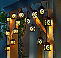 """LED-Lichterkette """"Laterna"""" - Produktdetailbild 1"""
