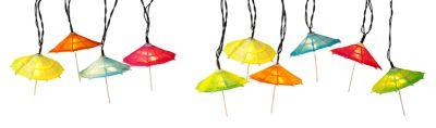 LED-Lichterkette Schirmchen