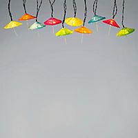 """LED-Lichterkette """"Schirmchen"""" - Produktdetailbild 1"""