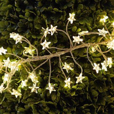 LED-Lichterkette Stern-Girlande