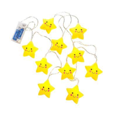 LED-Lichterkette Sterne