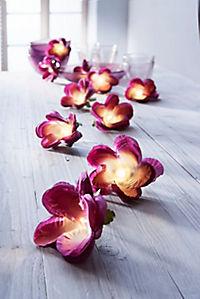 """LED-Lichterkette """"Violet Flower"""" - Produktdetailbild 1"""
