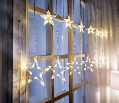 LED-Lichtervorhang Stars