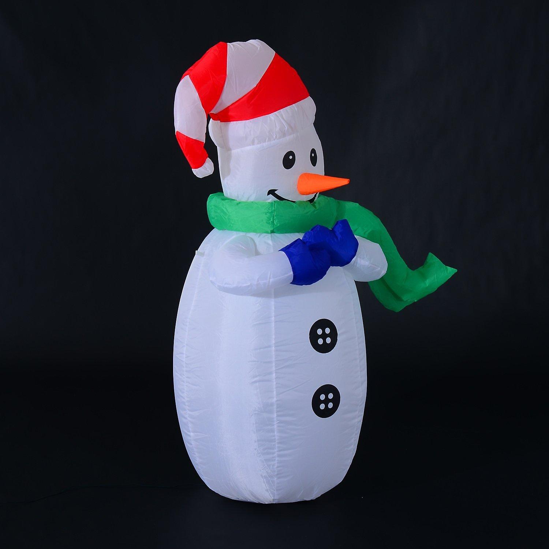 Weihnachtsdeko Aussen Schneemann.Led Schneemann Aufblasbar Jetzt Bei Weltbild De Bestellen