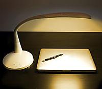 LED-Tageslicht-Tischleuchte, weiß - Produktdetailbild 5