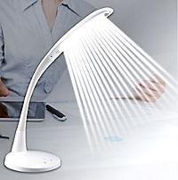 LED-Tageslicht-Tischleuchte, weiß - Produktdetailbild 2