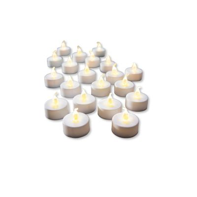 LED-Teelichter, 20-tlg.