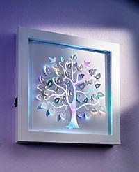 """LED-Wandbild """"Lebensbaum"""" - Produktdetailbild 1"""