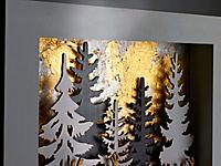 "LED-Wandbild ""Waldszene"" - Produktdetailbild 3"