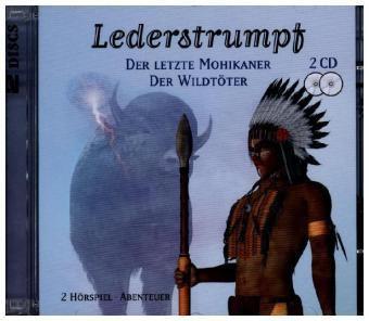 Lederstrumpf, 2 Audio-CDs, James Fenimore Cooper