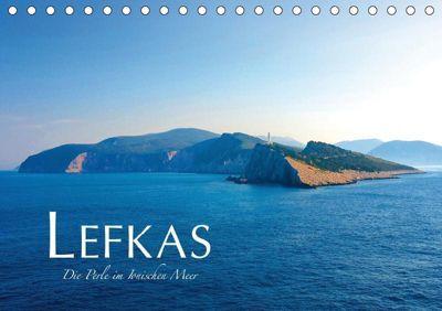 Lefkas - Die Perle im Ionischen Meer (Tischkalender 2019 DIN A5 quer), Fabian Keller