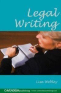 Legal Writing, Lisa Webley