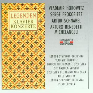 Legenden-Horowitz/Schnabel, Horowitz, Schnabel, Prokofieff