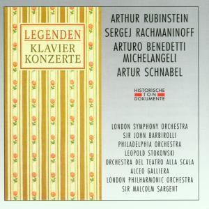 Legenden-Rubinstein/Rachmanin, Rubinstein, Rachmaninoff, Schnab