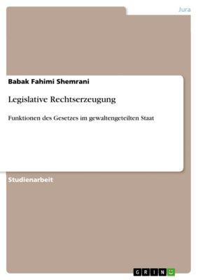 Legislative Rechtserzeugung, Babak Fahimi Shemrani