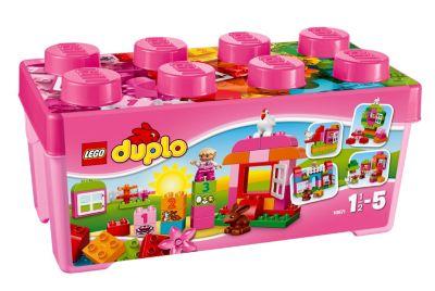 LEGO® 10571 DUPLO® - Große Steinebox Mädchen