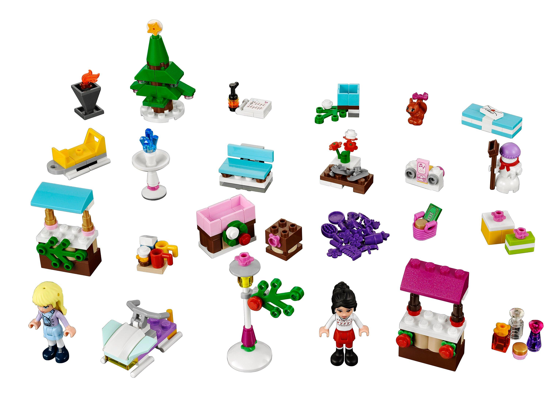 Lego Weihnachtsmarkt.Lego 41016 Friends Adventskalender Bestellen Weltbild De