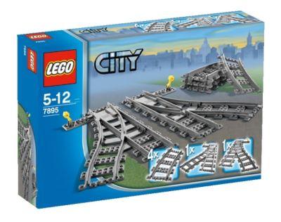 LEGO® 7895 City - Weichenpaar, LEGO®