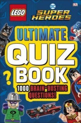 LEGO DC Comics Super Heroes Ultimate Quiz Book, Dk