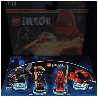 LEGO Dimensions, Team Pack, Ninjago, 4 Figuren