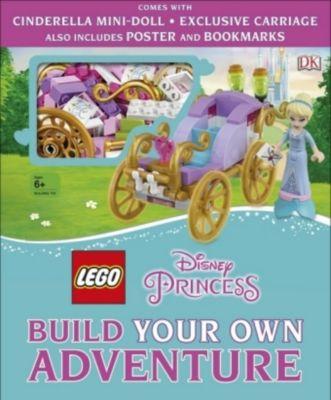 LEGO Disney Princess Build Your Own Adventure, Tim Johnson, Beth Davies, Julia March