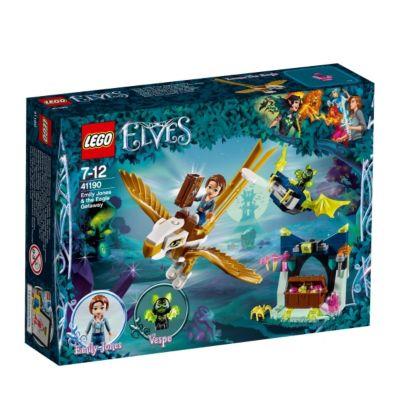 LEGO® Elves 41190 Emily Jones und die Flucht auf dem Adler, 149 Teile, 149 Tei