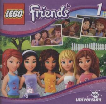 LEGO Friends Band 1: Tierisch gute Freunde (1 Audio-CD), Diverse Interpreten