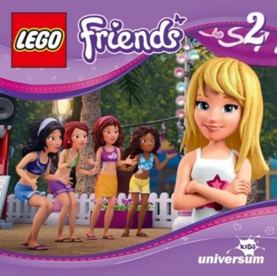 LEGO Friends Band 2: Die Überraschungsparty (1 Audio-CD), Diverse Interpreten