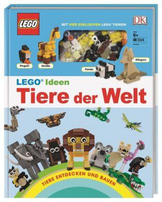 LEGO Ideen Tiere der Welt - Tiere entdecken und bauen, Rona Skene