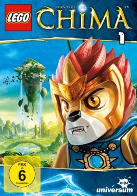 LEGO® Legends of Chima - DVD 1, John Derevlany, Tommy Andreasen, Thomas Sebastian Fenger