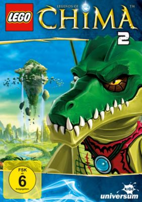 LEGO® Legends of Chima - DVD 2, John Derevlany, Tommy Andreasen, Thomas Sebastian Fenger